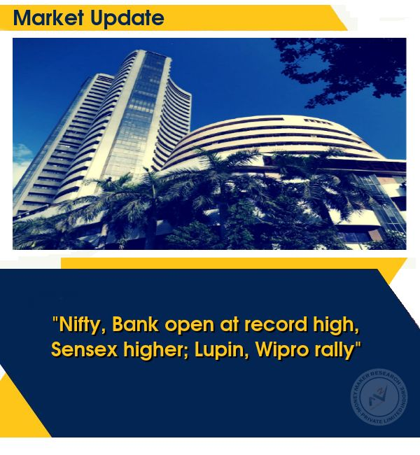 Benchmark indices extended gains in morning, with the Nifty hitting 9950 level, backed by ITC. The 30-share #BSE #Sensex was up 134.64 points at 32,163.53 and the 50-share #NSE #Nifty gained 32.05 points at 9,947.30. About two shares advanced for every share falling on the BSE. #MoneyMakerResearch #BestStockAdvisoryInIndore For More Details Visit http://www.moneymakerfinancial.com/