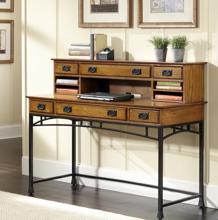 bureau secrétaire, design moderne, piètement métallique