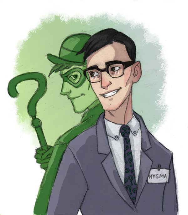 edward nigma riddler                                                       …
