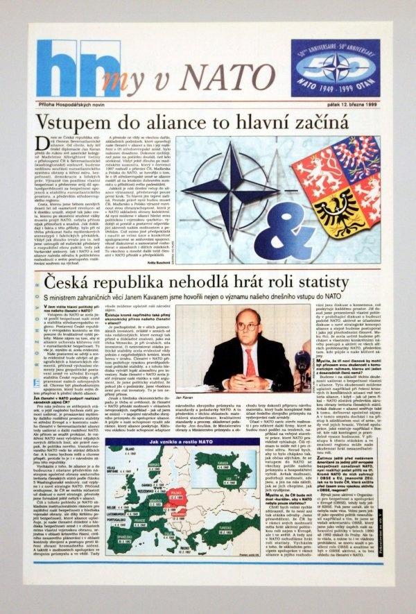 12.3.1999 - ČR vstupuje do NATO