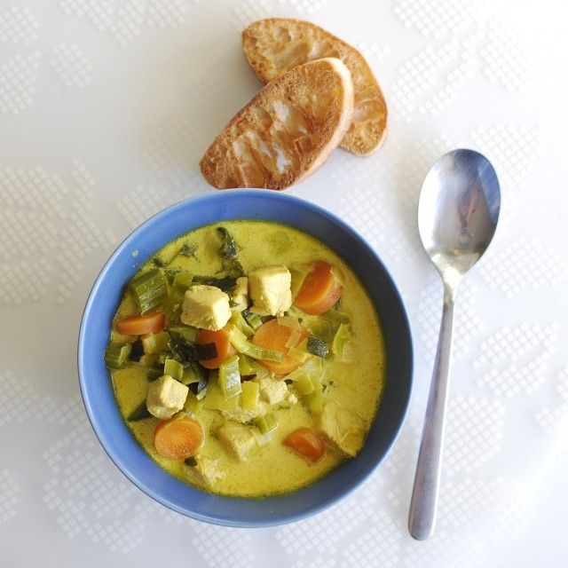 Soup using selleri