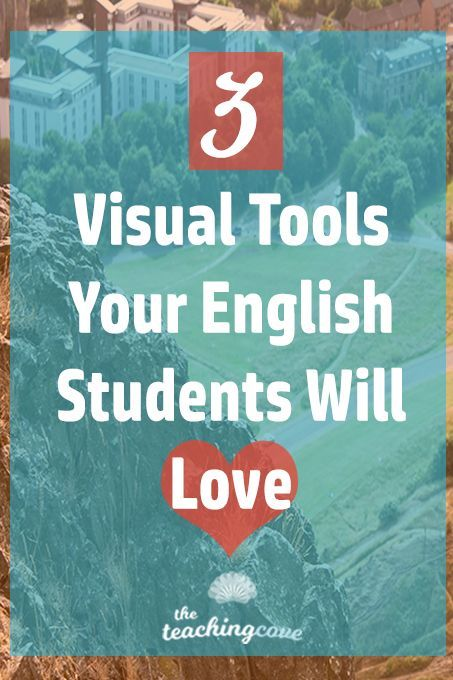 Want to learn about 3 visual software tools and video tools for your English class? Need quick English teaching tips? Click the pin to read today's post about 3 Visual Software tools your English class will love. If you want free English teaching printables, head over to http://www.teachingcove.com and sign up for my Free Teaching Printables library. You'll have access to a whole library of resources updated monthly!