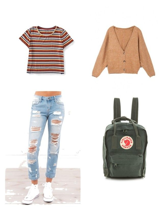 Cozy fall outfit by kyrarosie on Polyvore featuring polyvore, fashion, style, Aéropostale, Fjällräven and clothing