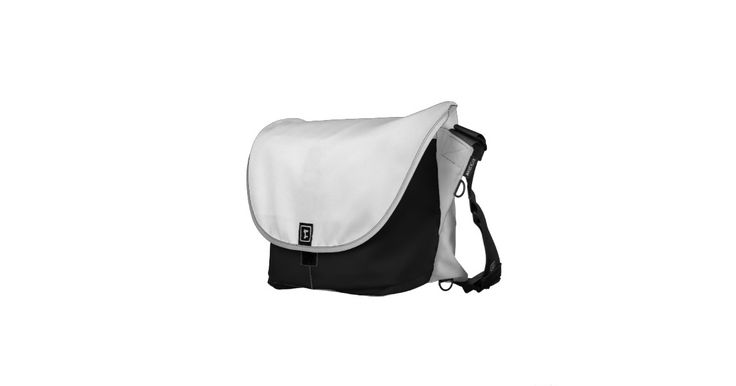 Black White and Grey Rickshaw Bags Pick your size!