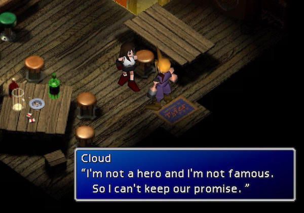 Cloud Strife - Final Fantasy VII - Checkpoint
