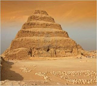 La pirámide escalonada de Sakkara Arquitectura en la historia.: Arquitectura de Egipto