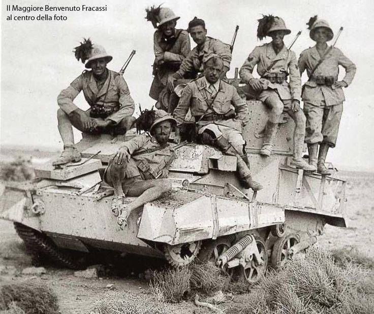 Bersaglieri WW2, North Africa.