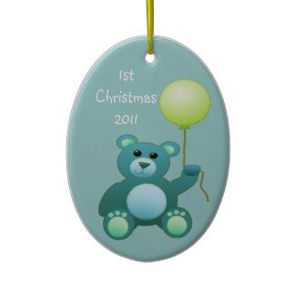 1st Christmas/photo Ornament