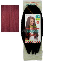 "Vivica Fox Cuban Dance Twist 12"" - Color 132 - Synthetic Braiding"
