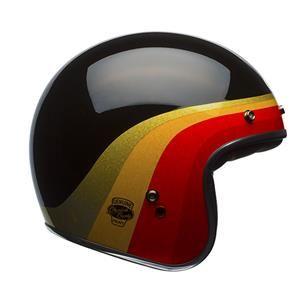 Bell - Custom 500 Chemical Candy Helmet - Black/Gold