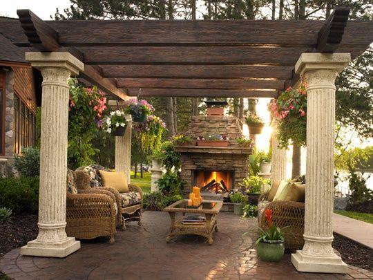 25 best ideas about rustic italian decor on pinterest for Italian patio design