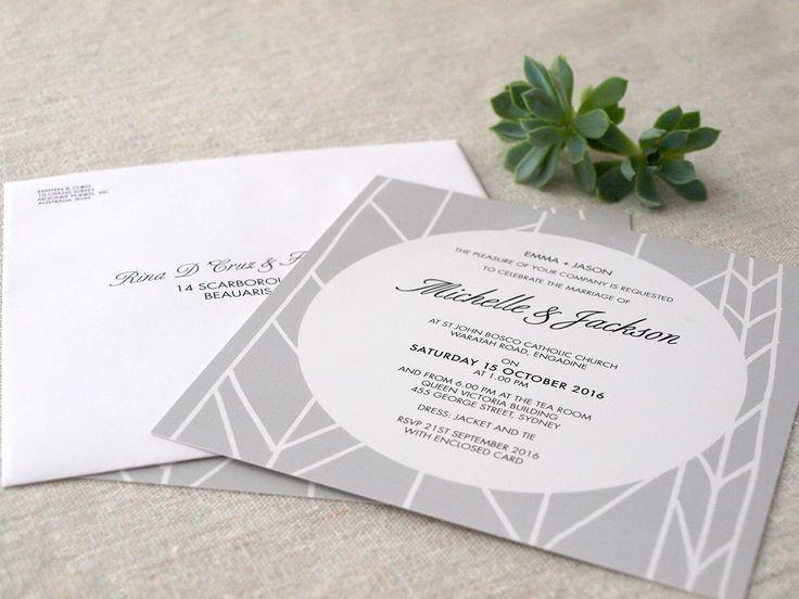 Grey wedding invitations our new Modern Whimsy Design #wedding #invitations #grey #modern #whimsy #scandi http://www.alannahrose.com.au/shop/category/wedding-stationery-modern-whimsy-grey