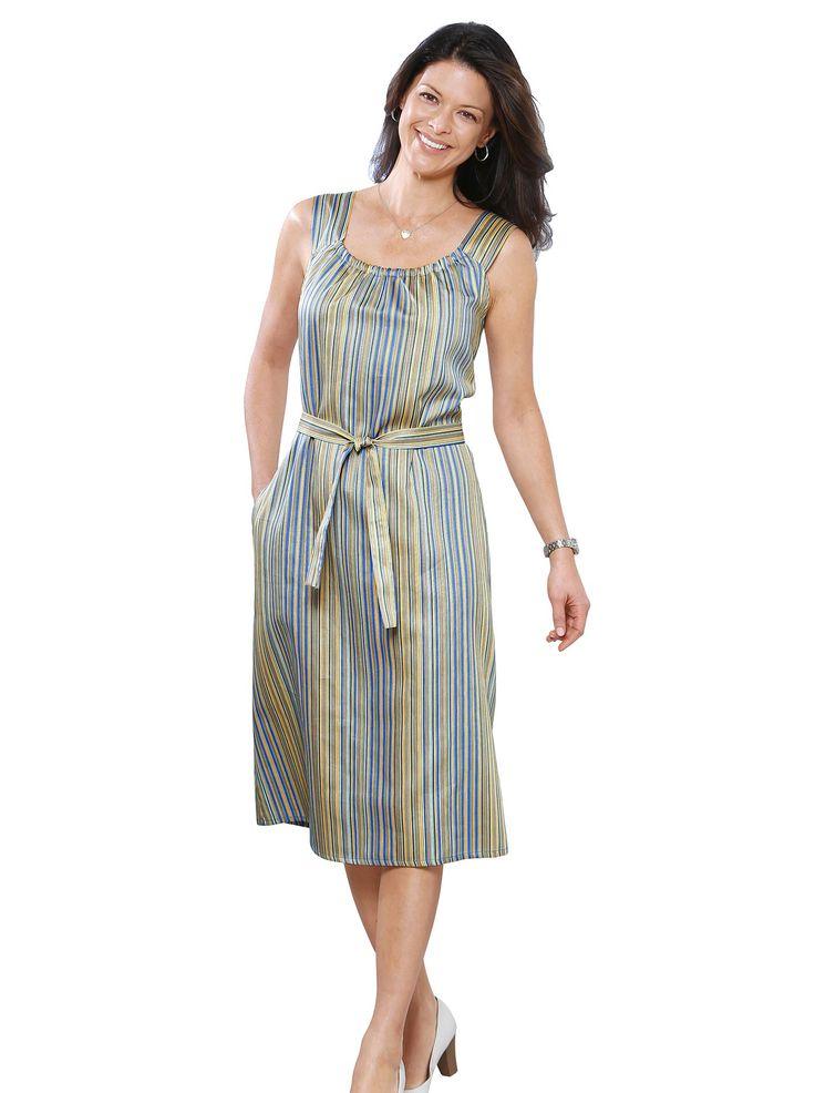 Kleiderschürze in bunt-gestreift online kaufen | WITT WEIDEN – 314.319.042