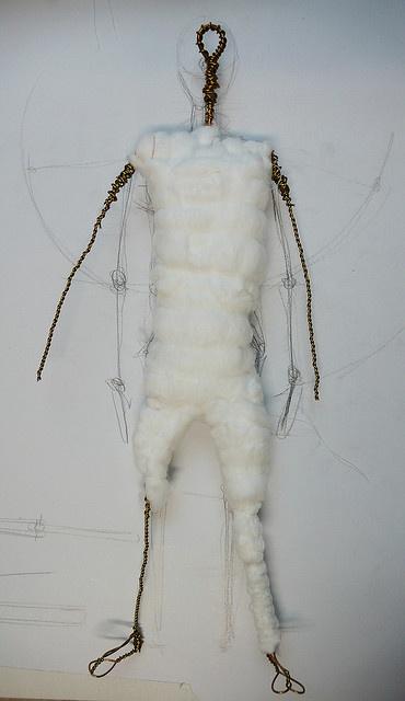 making an art doll
