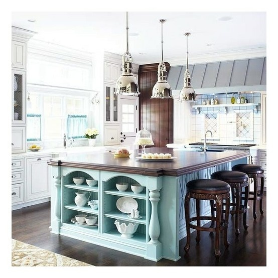 colorful kitchen islands beach house redesign pinterest