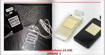 Carcasa perfume IPHONE 5