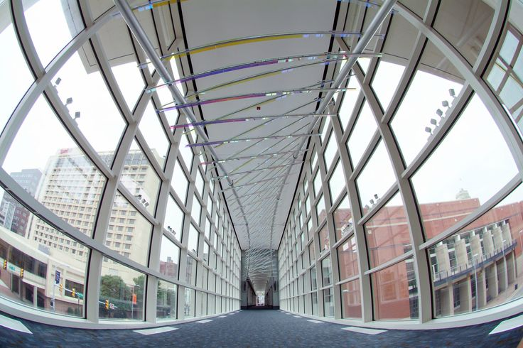 Greater Richmond Convention Center Skywalk.