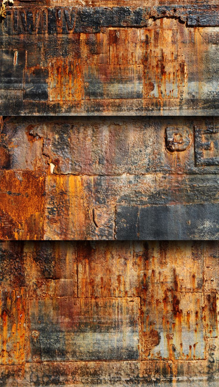 3 Free Rust Textures by kropped.deviantart.com on @DeviantArt