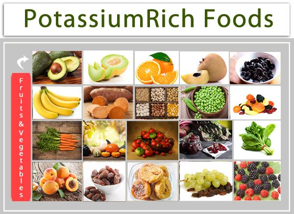 fruits with potassium healthy recipes with fruits and vegetables