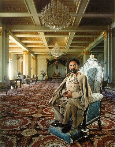 Born Tafari Makonnen, Haile Selassie I was Ethiopia's regent from 1916 to 1930 and Emperor of Ethiopia from 1930 to 1974.    He was the heir to a dynasty that traced its origins to the 13th century, and from there by tradition back to King Solomon and Queen Makeda, Empress of Axum, known in the Abrahamic tradition as the Queen of Sheba. Haile Selassie is a defining figure in both Ethiopian and African history.