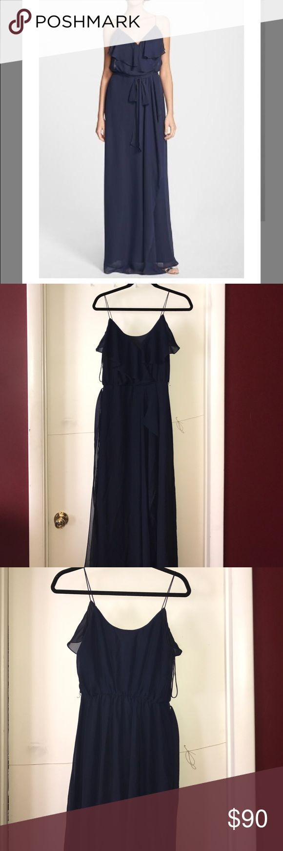 Nouvelle Amsale Gown Worn only one time! In great condition and fits to size! Perfect for any summer occasion! Nouvelle Dresses Prom