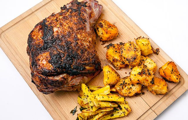 ... Roast Leg Of Lamb on Pinterest | Leg of lamb recipe, Lamb and Lamb