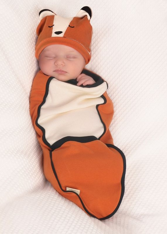 Fox Bunting Set | Shop Cozy Cocoon Baby Swaddling Outfits at SugarBabies