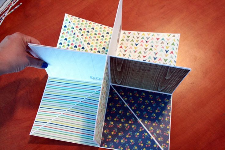 Scrapbook minialbum tutorial by NőiCsizma
