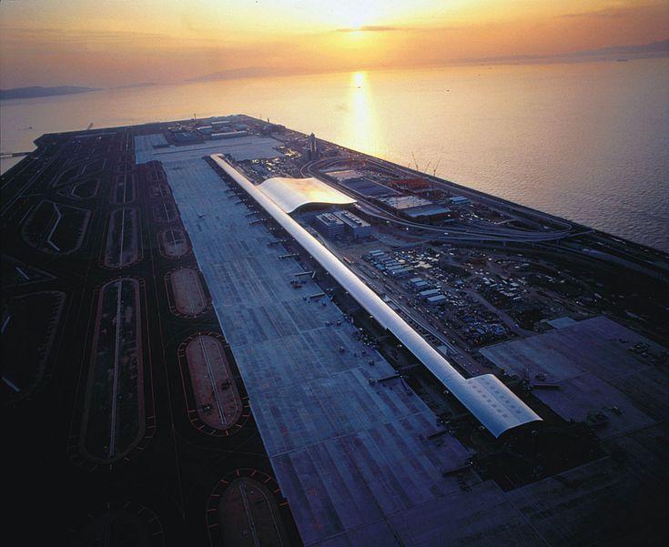 Renzo Piano-Kansai International Airport Terminal Building,1994