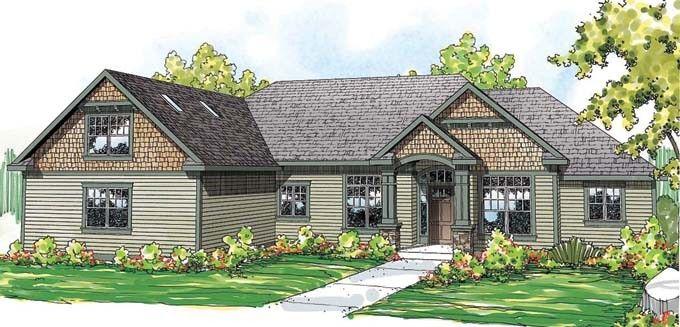 Hudson Farmhouse Plan Front Image Nice Floorplan Make Smaller See More
