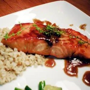 Bourbon Salmon is listed (or ranked) 1 on the list Champps Americana Recipes