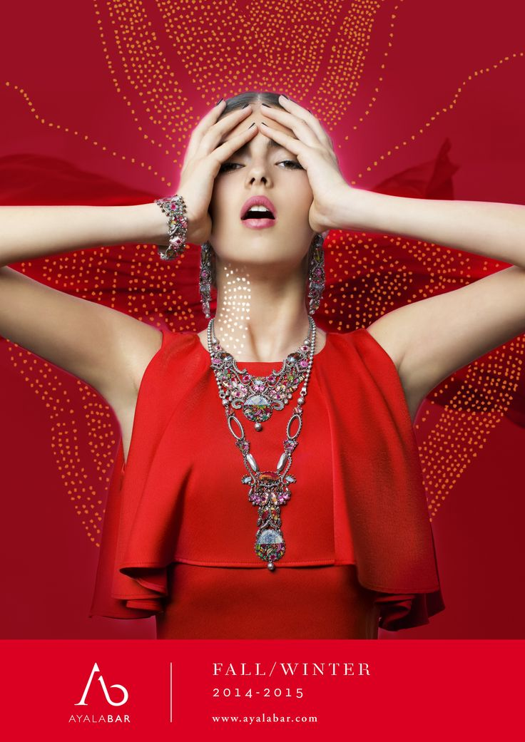 """ll freddo di stagione si """"scalda"""" improvvisamente di fascino e femminilità. La linea """"Red Fire"""" di  Ayala Bar, accende tutta la creatività della designer israeliana di charme inestimabile e passione  assoluta. L'emozione e il sentimento si fondono quasi d'incanto in un tappeto scintillante di  gioielli, tra collane, orecchini, bracciali e accessori lavorati ad arte e impreziositi magistralmente.  aibijoux.com pressoffice: www.manuelacaminada.it"""