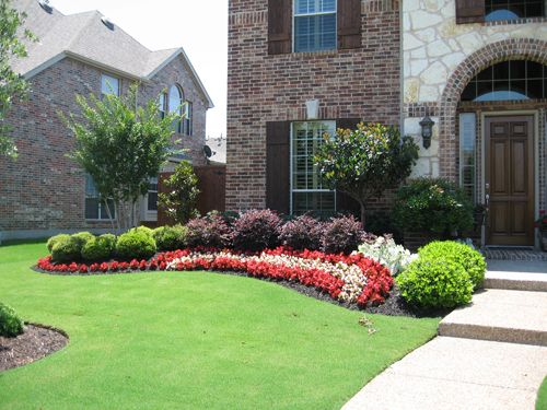 26 best landscaping front yard images on pinterest for Garden design texas