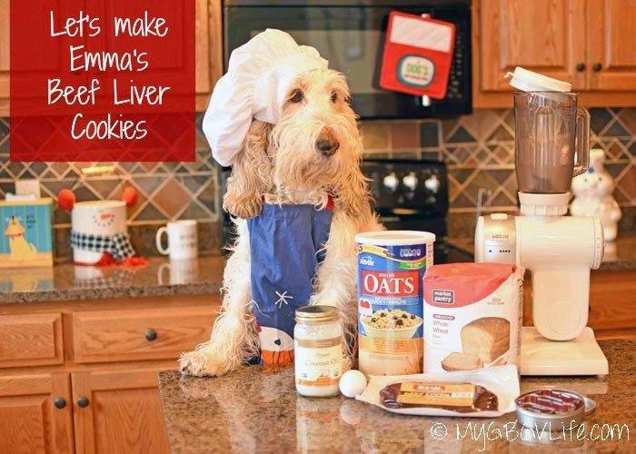 How To Make Emma S Beef Liver Cookies Homemade Dog Cookies Dog
