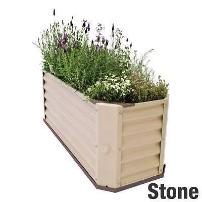 7 best hills self watering garden beds images on pinterest 34 new hills self watering garden bed self contained raised planter box stone in workwithnaturefo