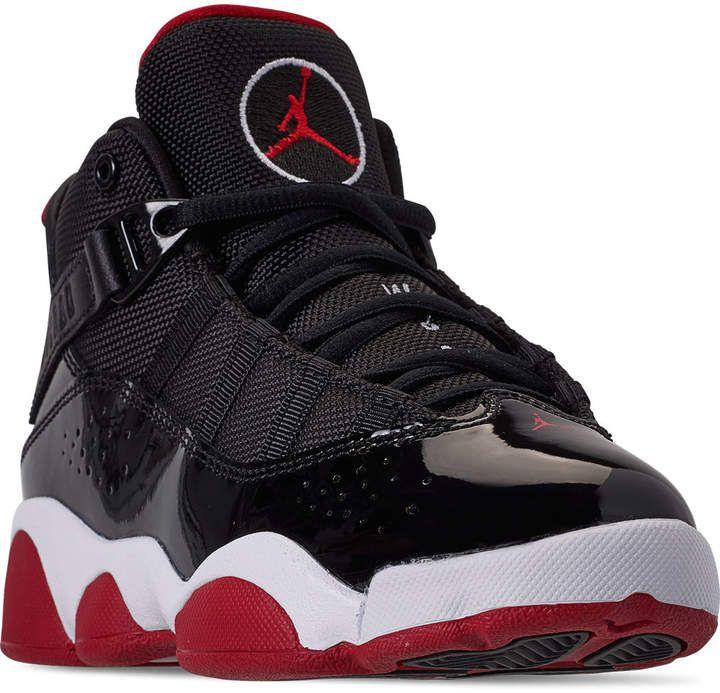 Nike Boys' Little Kids' Air Jordan 6 Rings Basketball Shoes ...