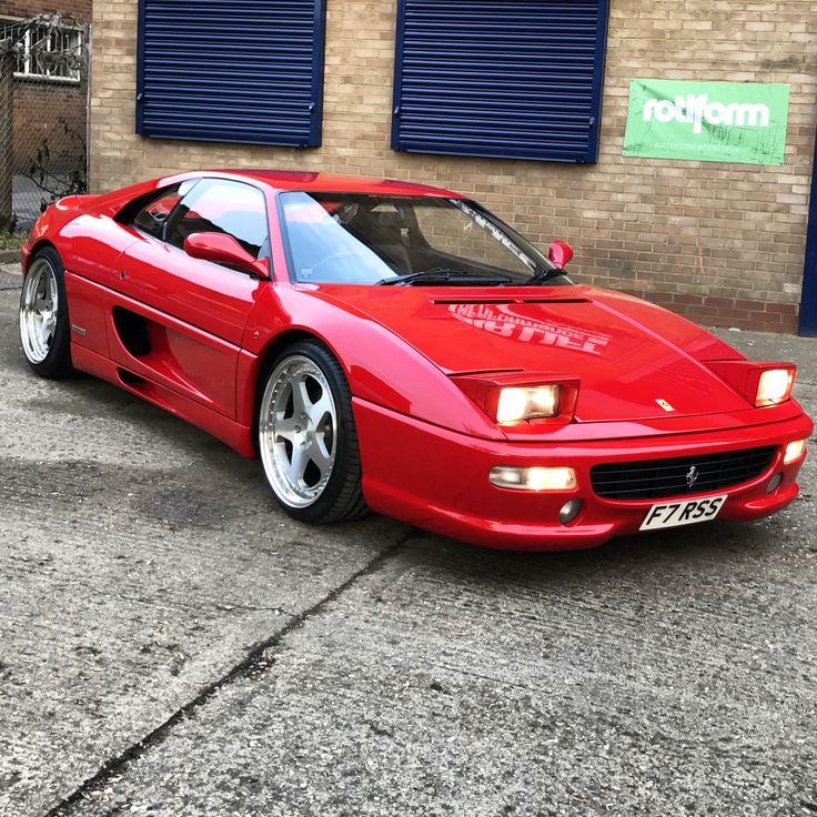 Ferrari F Sitting In  Forged Rotiform Rocs Rajsangha