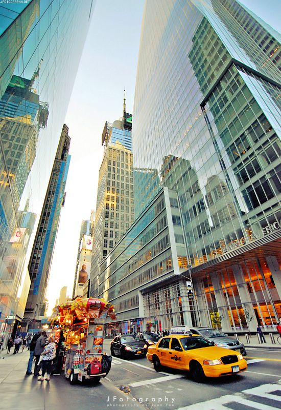 New York City. This makes me want to go downtown, rent a wide angle lens and shoot all day!
