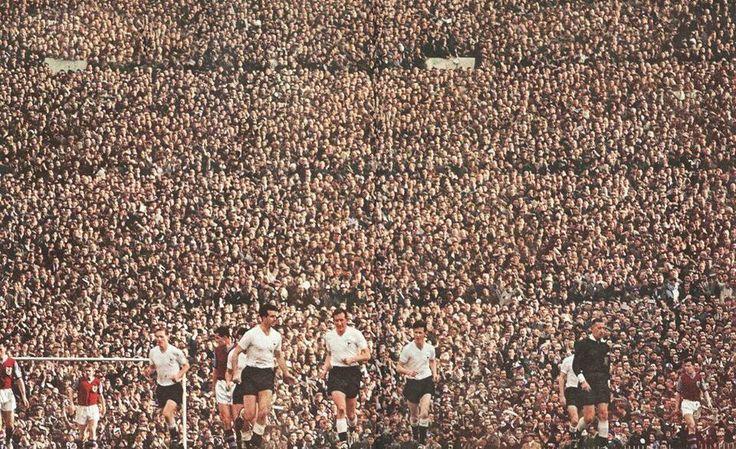 Tottenham vs Burnley - FA Cup semi-final 1960-1961