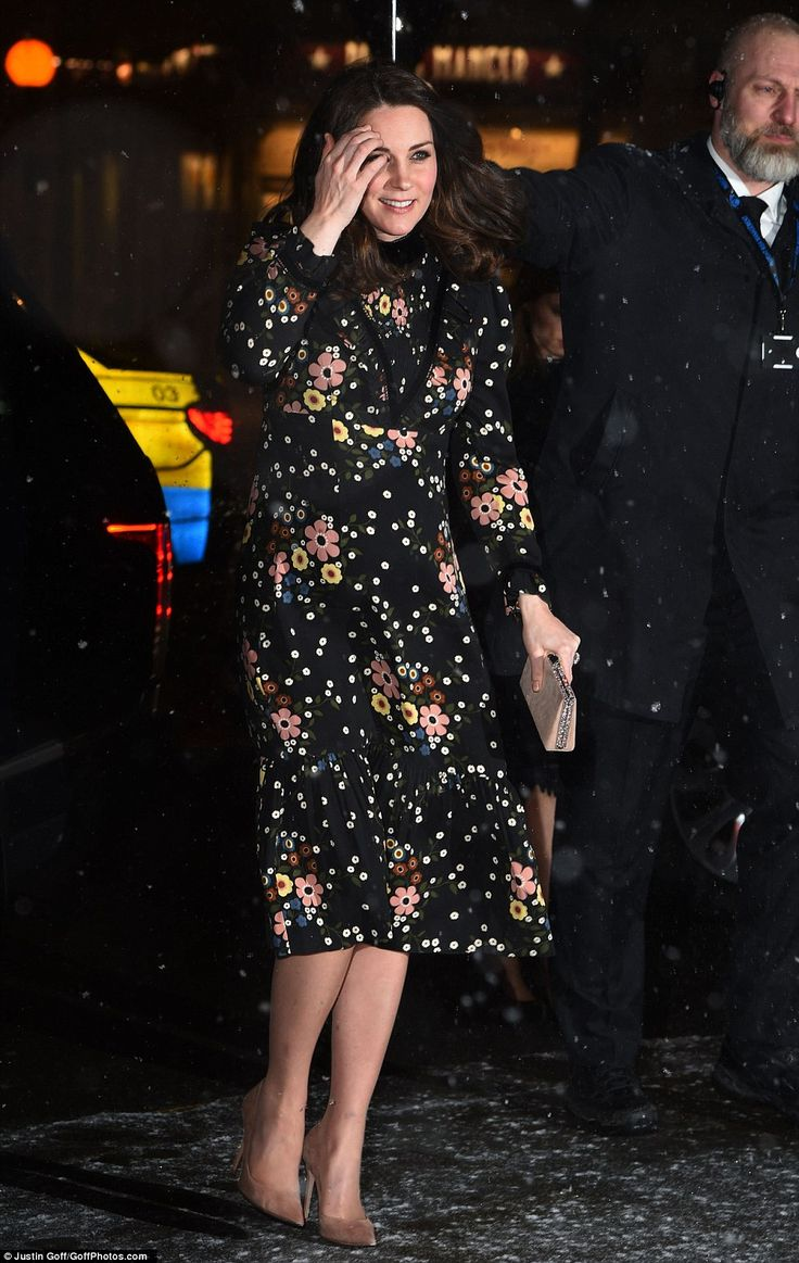 The Duchess, 36, is visiting the exhibition Victorian Giants: The Birth of Art Photography at the National Portrait Gallery in London ahead of its opening to the public tomorrow.