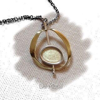Silver and bronze ..... Contemporary jewelry .....