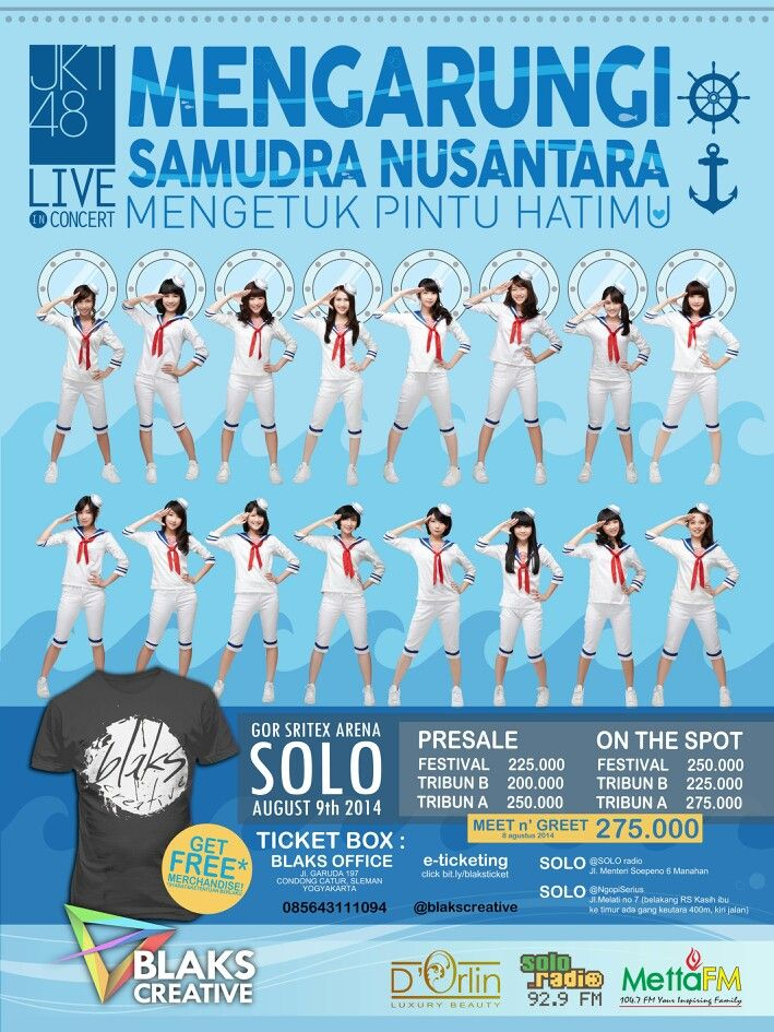 JKT48 LIVE IN CONCERT SOLO 9 AGUSTUS 2014 SUPPORTED BY D'ORLIN LUXURY BEAUTY