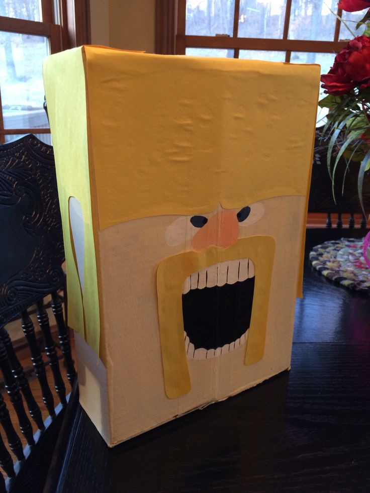 Clash of Clans Valentines Day Party Box Barbarian Guy