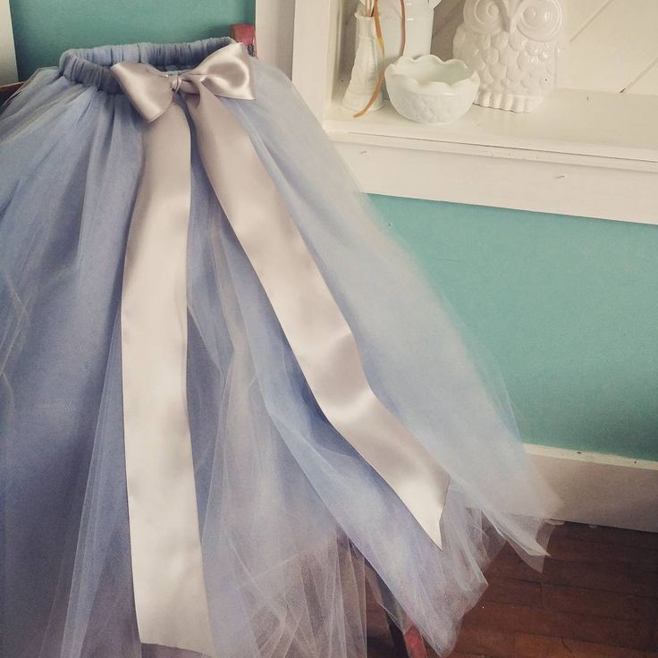 Dusty Blue tulle skirt blend. This is such a dreamy color for weddings this season! Looking forward to more flower girls wearing this color. Princessdoodlebeans.com