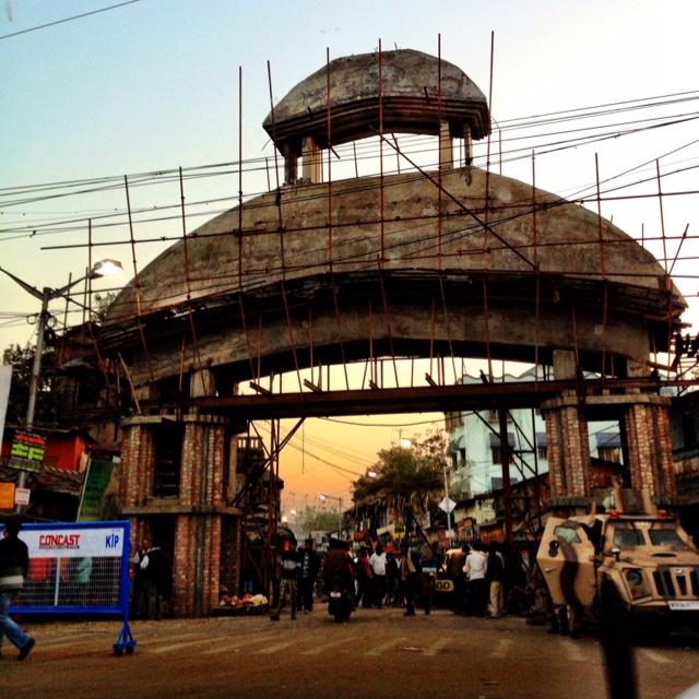 The Gateway Under Construction