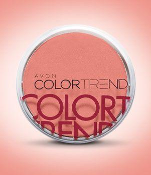 Color Trend Rubor Compacto Facial 7 g Durazno