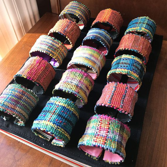 Cuff Bracelet   Your choice of 1 Bracelet. Wide  Woven by