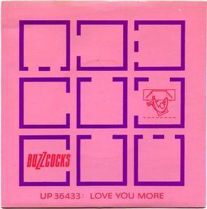 """Buzzcocks 7"""" - Love you more"""