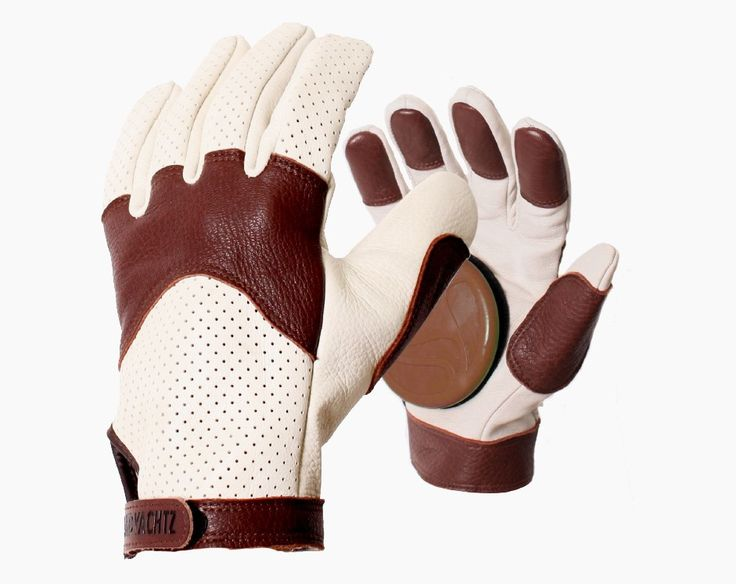 The Landyachtz Slide Glove is made with durable leather for maximum strength and durability, double thick where you need it: in the thumb, on the fingertips, and on the knuckles. They feature an elast
