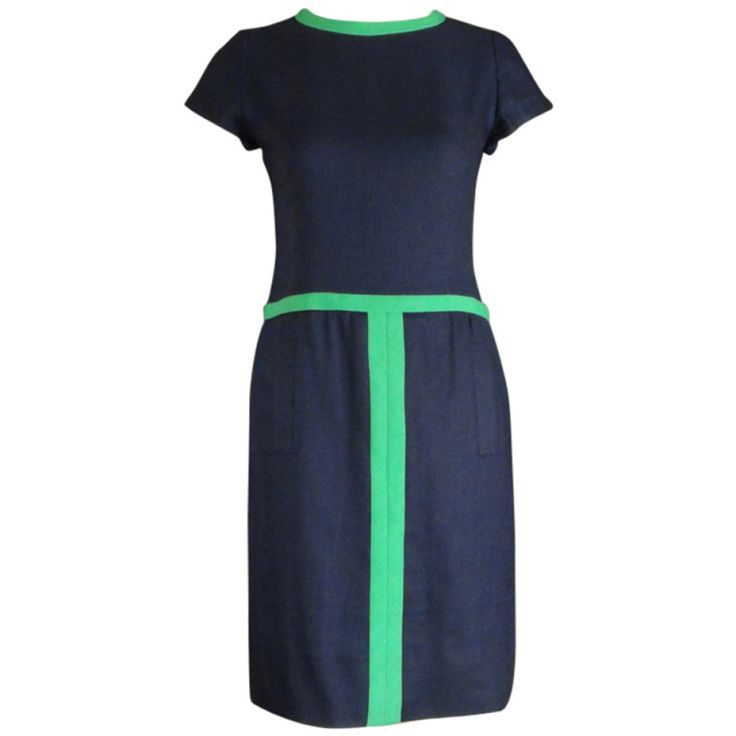 1960s pierre cardin linen dress - Pierre Cardin Costume Mariage